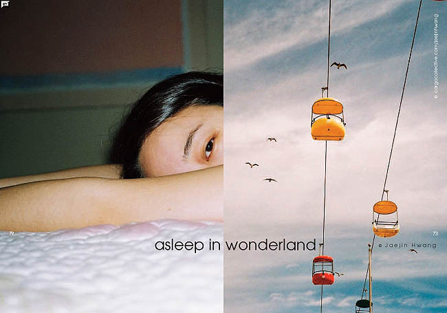 Asleep in wonderland